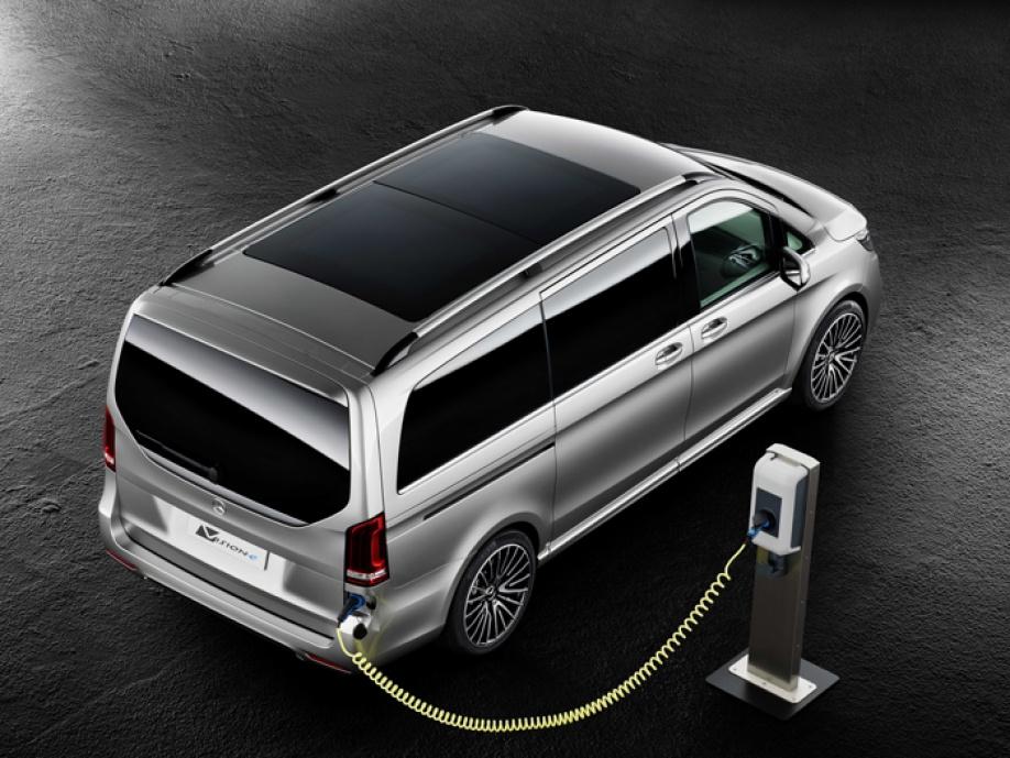 Mercedes Benz Concept V Ision E Meer Prestaties En Minder Co2