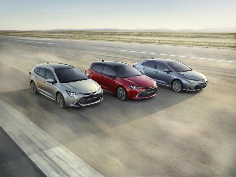 Toyota Geeft Prijzen Nieuwe Corolla Vrij Autoplus