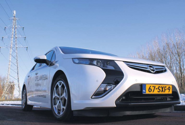 Opel Ampera Extended Range Electric Vehicle