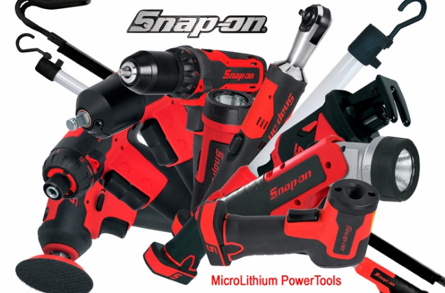 Snap-on Tools vergroot en vernieuwd assortiment MicroLithium Power Tools