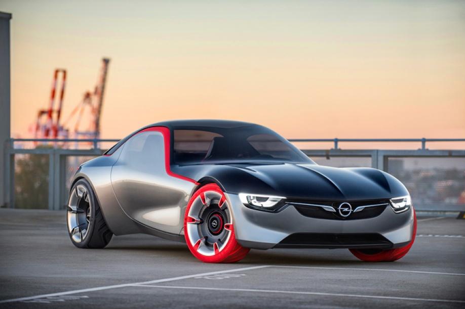 Opel Gt Concept Zo Ziet De Sportauto Van De Toekomst Er Uit Autoplus