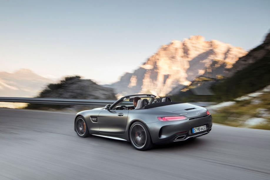 De Nieuwe Mercedes Amg Gt Roadster En Mercedes Amg Gt C Roadster