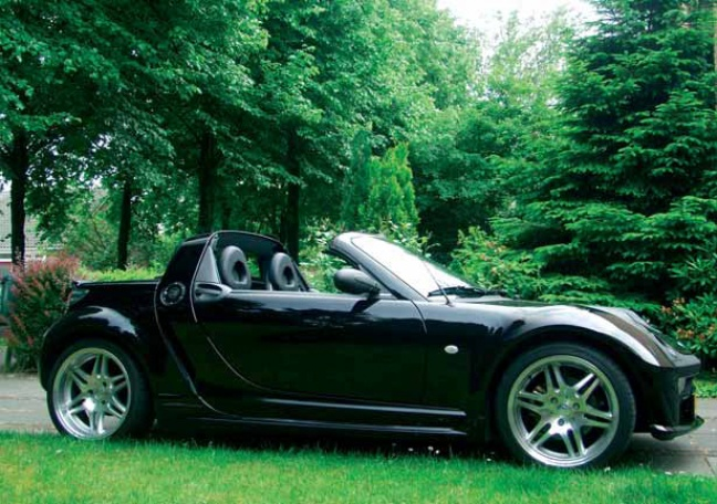 smart roadster brabus 74kw autoplus. Black Bedroom Furniture Sets. Home Design Ideas