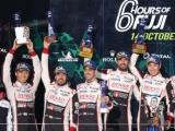 TOYOTA GAZOO Racing pakt goud en zilver tijdens WEC-race in Fuji