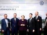 [VIDEO] Merkel geeft startsein voor productie ID.3