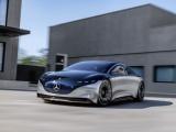 Showcar Mercedes-Benz Vision EQS - duurzame schoonheid in beweging
