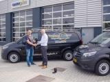 Aflevering aan Broekema & Luppen Installateurs van twee Mercedes-Benz Vito's!