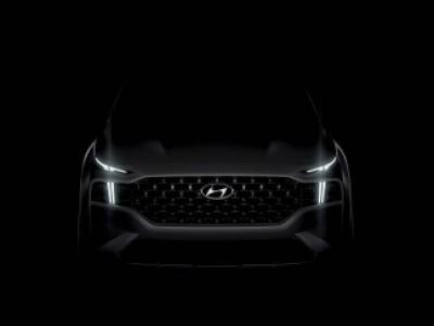 Hyundai toont eerste glimp van de nieuwe Santa Fe