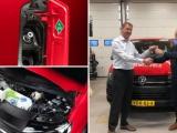 Century Autogroep heeft de primeur met de elektrische Volkswagen Transporter op waterstof.