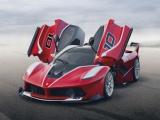 Wereldpremière van Ferrari FXX K tijdens Ferrari Finali Mondiali in Abu Dhabi
