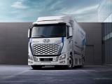 Hyundai presenteert vernieuwde waterstoftruck XCIENT Fuel Cell