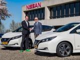 Nissan levert elektrische deelauto's en xStorage-opslagbatterijen voor woonwijk met energieproducerende woningen