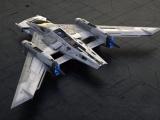 Porsche en Starwars presenteren Tri-Wing S-91x Pegasus Starfighter
