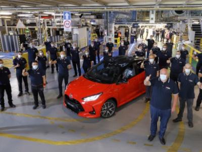 Toyota start productie nieuwe generatie Yaris