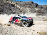 De Peugeot 2008 DKR keert terug in de strijd ter gelegenheid van de Silk Road Rally in China