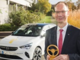 Opel Corsa-e wint Gouden Stuurwiel 2020