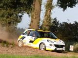 Timo van der Marel met Opel Adam tiende in GTC-rally