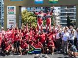 Toyota besluit Dakar 2016 succesvol met 3e plaats en drie auto's in top-10