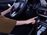 Hyundai onthult 's werelds eerste vingerafdrukscanner in een auto