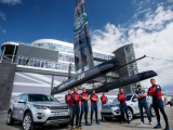 Land Rover wordt naam- & innovatiepartner van team Land Rover BAR voor America's Cup Zeilraces