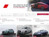 Bereikbare sportiviteit: nieuwe S- en RS-sectie op Audi occasionwebsite