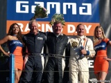 Publiek op de banken voor NK HTGT tijdens Gamma Racing Day