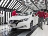 Productieaantal Nissan LEAF overstijgt die van iconische Bluebird in Sunderland
