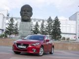 Nieuwe Mazda3 presteert optimaal in Mazda Route3 Hiroshima - Frankfurt