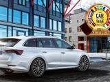 ŠKODA OCTAVIA genomineerd voor titel Auto van het Jaar 2021