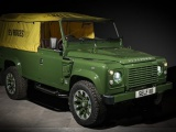 One off land rover defender middelpunt in Selfridges Londen