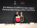 Kia Motors nieuwe Official Partner van UEFA Europa League