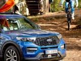 Ford en de outdoor expert komoot helpen met nieuwe avonturen voor de volgende staycation