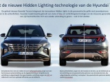 In detail: de Hidden Lighting-technologie van de nieuwe Hyundai Tucson