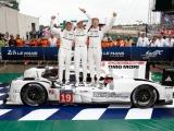 Porsche viert dubbelzege met 919 Hybrid in Le Mans