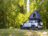 Land Rover en Autohome ontwikkelen robuuste daktent voor nieuwe Defender 110