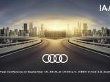 Audi pakt uit op IAA met wereld- en showprimeurs