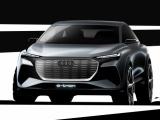Eerste schetsen Audi Q4 e-tron concept