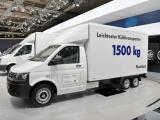 Lichte en energiezuinige koelopbouw voor Transporter in de prijzen