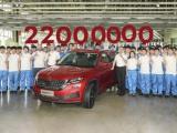Feest bij ŠKODA: 22 miljoenste auto loopt in China van de band