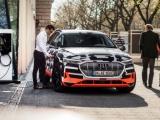 Audi sluit elektrische auto aan op het huis