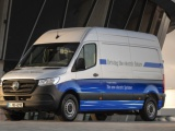 Mercedes-Benz Vans start verkoop elektrische eSprinter