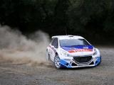 Kevin Abbring met Peugeot 208 T16 weer terug in het Wereld Rallykampioenschap