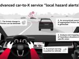 Audi waarschuwt voor gladde wegen