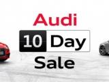 Audi 10 Day Sale: het voordeel van direct rijden in een nieuwe Audi