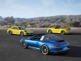 Nieuwe Porsche 911 Carrera 4 en 4S en Targa 4 en 4S: efficiënt sprintvermogen