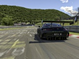 De Mercedes-AMG GT3 virtueel succesvol