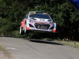 Kevin Abbring jaagt met Hyundai i20 WRC op succes op Corsica