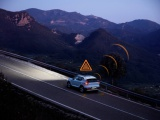 Volvo's in Europa waarschuwen elkaar voor gladde wegen en gevaren