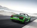 R8 Spyder V10 plus: de allersnelste open Audi ooit