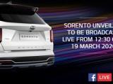 Kia onthult nieuwe Sorento via Facebook livestream